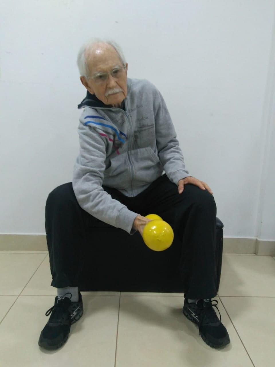 GANHO DE MASSA MUSCULAR NO ENVELHECIMENTO
